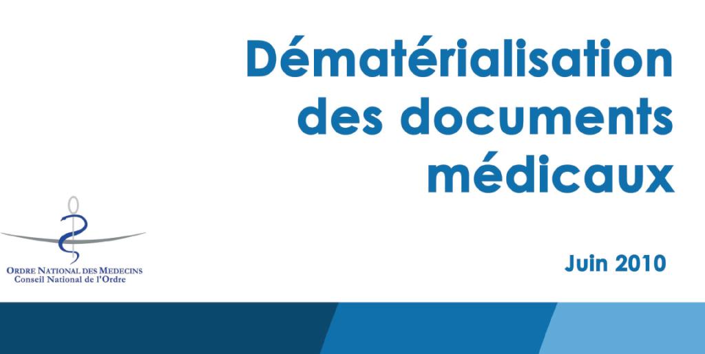 Dématérialisation des documents médicaux