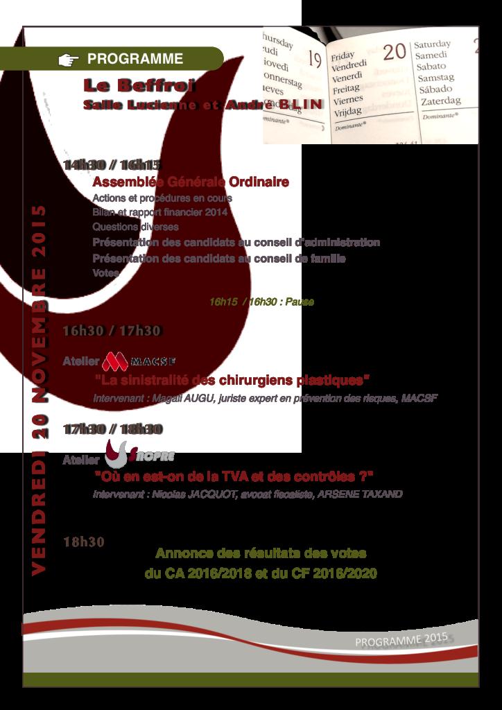 Programme SNCPRE-MACSF Amphi Blin le 20-11-2015